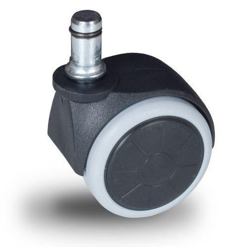 JPG 050 T10x32/N Forgó kerék, padlókímélő gumis futófelület, 50 mm, 40 kg teherbírás, 10x32-es Seeger csappal
