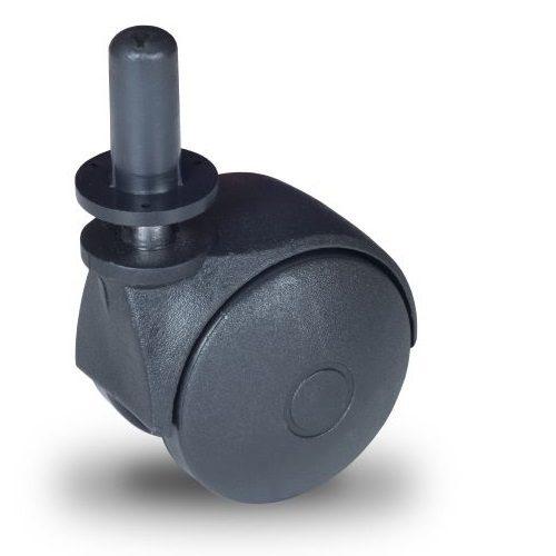 JPN 050 T11x20/N Forgó kerék, műanyag futófelület, 50 mm, 40 kg teherbírás, 11x20-as Seeger csappal